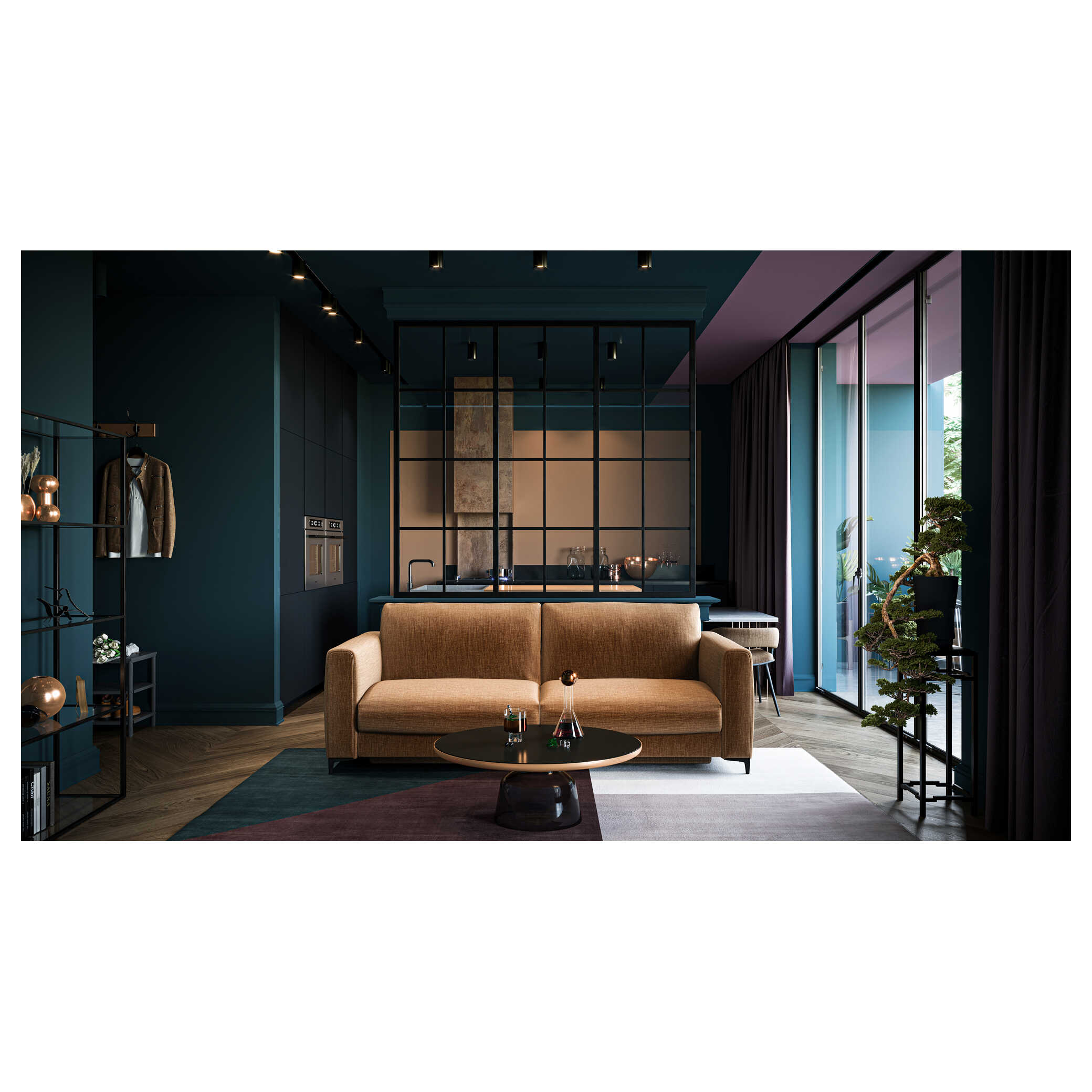 MOON Sofa 3 osobowa – Boki S  loading='lazy'